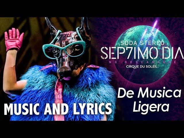Sep7imo Día de Soda Stereo y Cirque Du Soleil